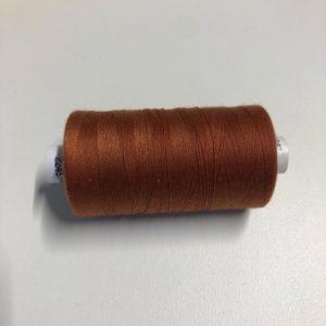 Bobine de fil marron cuivre